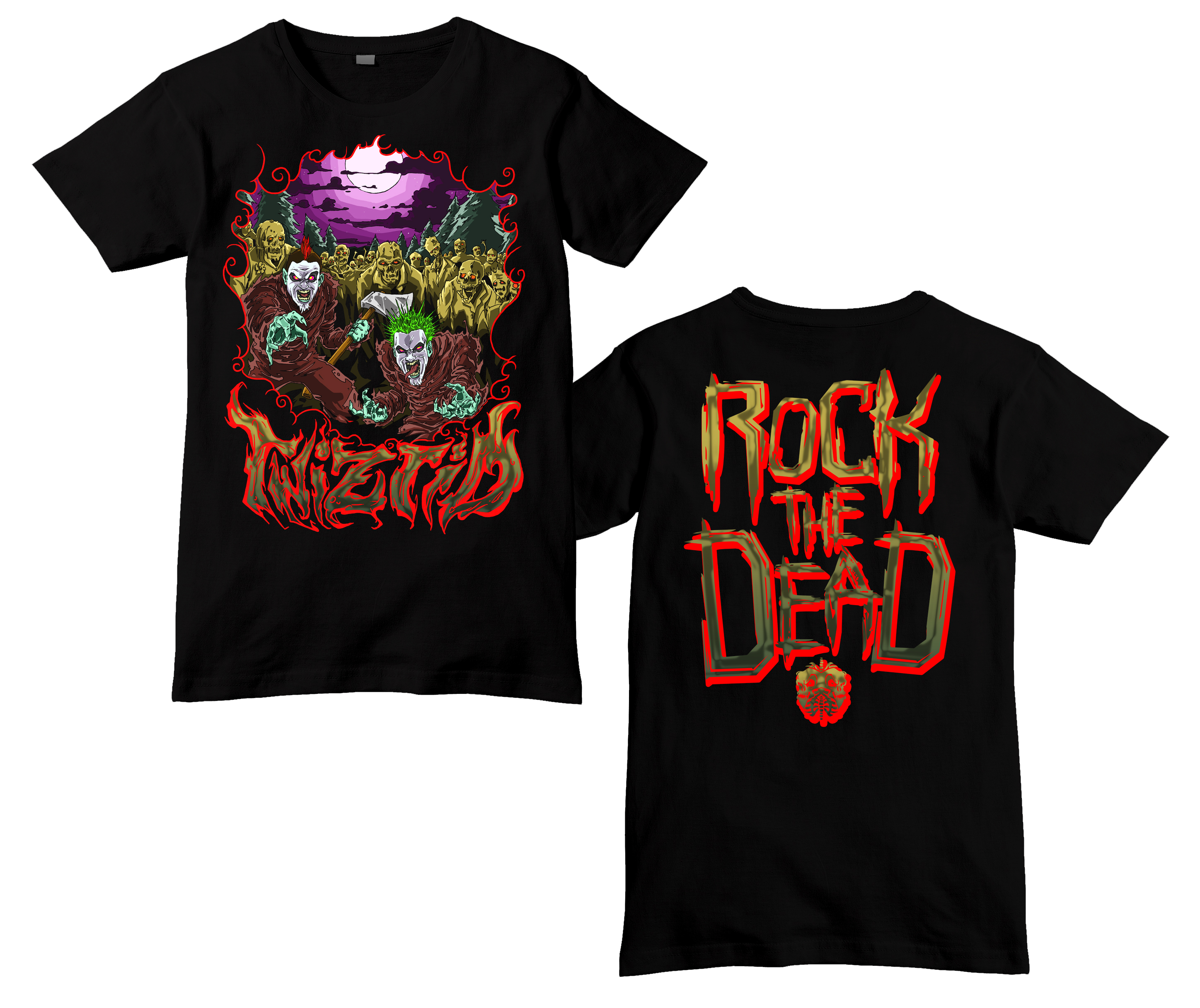 T black shirt rock - T Black Shirt Rock 45