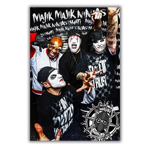 Twiztid, Blaze and The R.O.C. Group Poster MNE