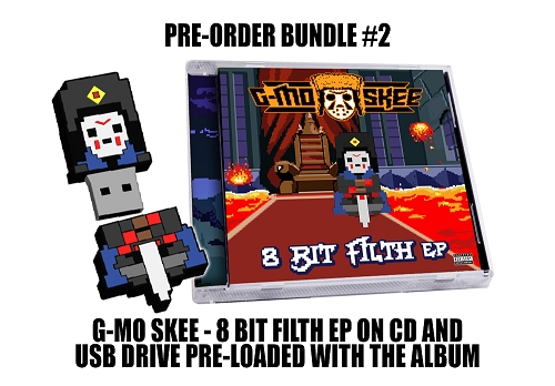 G-Mo Skee 8 Bit Filth EP USB Drive and CD Bundle #2  Pre-Order