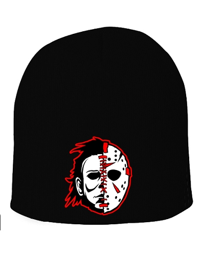 Twiztid Serail Killas Split Face 8 Inch Black Beanie