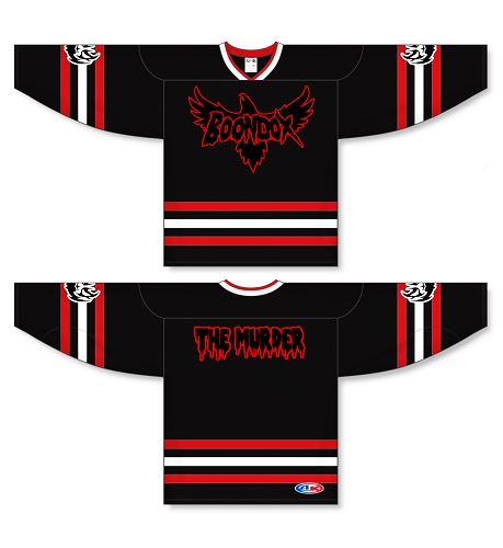BOONDOX THE MURDER HOCKEY JERSEY