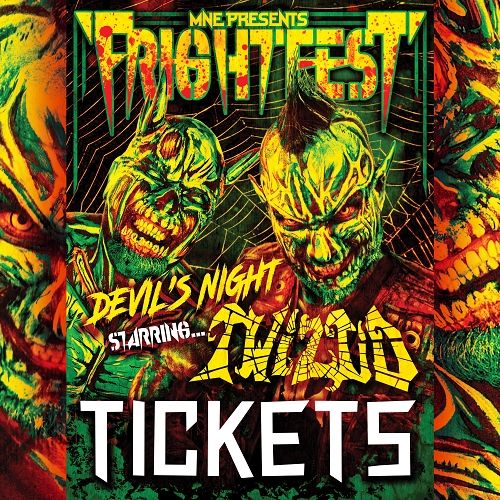 Twiztid Devils Night 2017 Concert Ticket 10/30/17