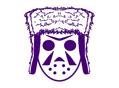 G-MO SKEE PURPLE HEAD LOGO STICKER
