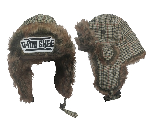 GMO PLAID USHANKA HAT