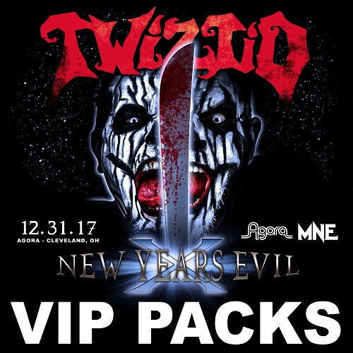 Twiztid New Years Evil 10 VIP Package 12/31/17 Cleveland, OH