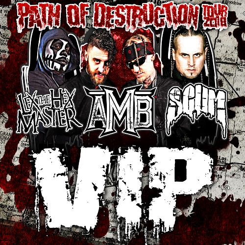 Path Of Destruction Tour VIP