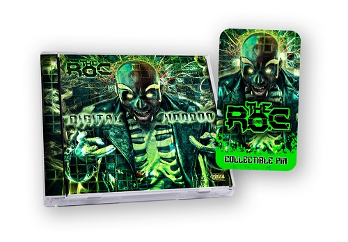 The R.O.C. Digital Voodoo Hat Pin Bundle