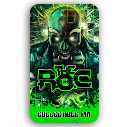 The R.O.C. Digital Voodoo Hat Pin