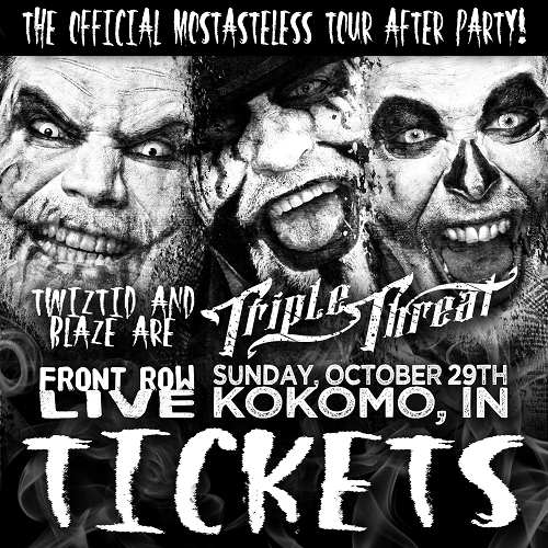Triple Threat After Party Ticket KOKOMO, IN 10/29/17