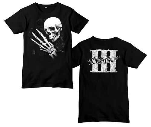 Triple Threat Skeleton 3 Shirt