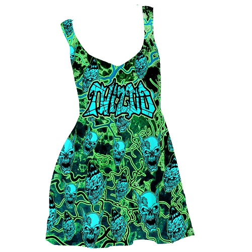 Twiztid Continuous Evilution Pattern Dress