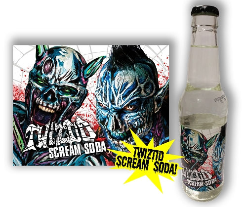 Twiztid Vanilla Scream Soda 4 Pack