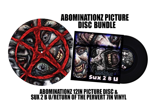 Abominationz Picture Disc Bundle with 7 Inch Vinyl
