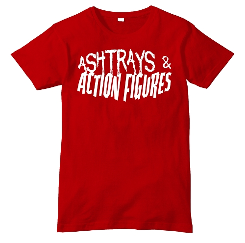 Red Ashtrays & Action Figures Shirt