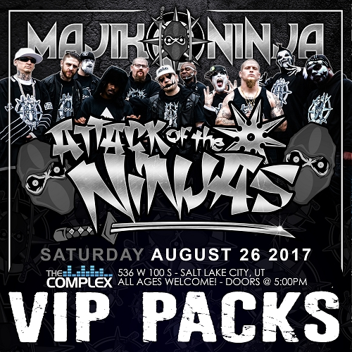 Attack Of The Ninjas Entire MNE Family VIP EVENT