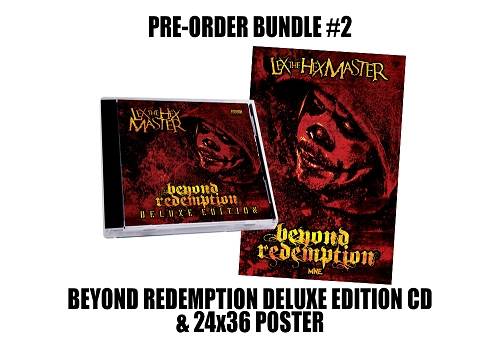 Lex The Hex Master Beyond Redemption Deluxe Edition Poster Bundle #2