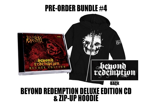 Lex The Hex Master Beyond Redemption Deluxe Edition Zip Up Hoodie Bundle #4