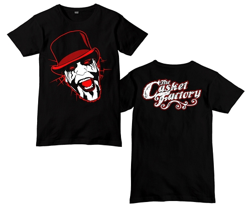 Blaze Casket Factory Cartoon Face Shirt