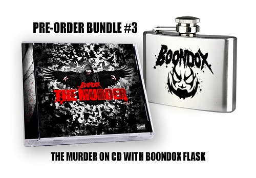 Boondox The Murder Pre Order Flask Bundle #3
