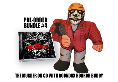 Boondox The Murder Pre Order Ninja Buddy Bundle #4
