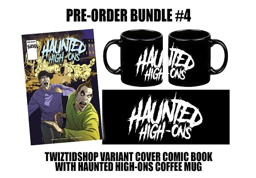 Twiztid's Haunted High-Ons Twiztidshop Variant Cover Comic Book Pre Order Mug Bundle #4