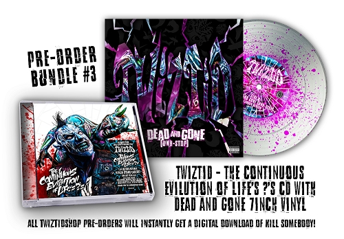 Twiztid The Continuous Evilution Of Life's ?'s Pre Order 7 Inch Vinyl Bundle #3