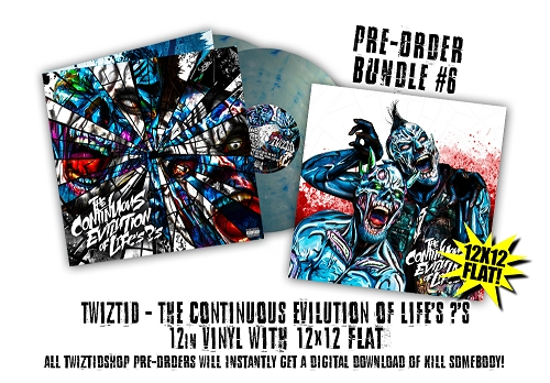 Twiztid The Continuous Evilution Of Life's ?'s Pre Order 12 Inch Vinyl Bundle #6