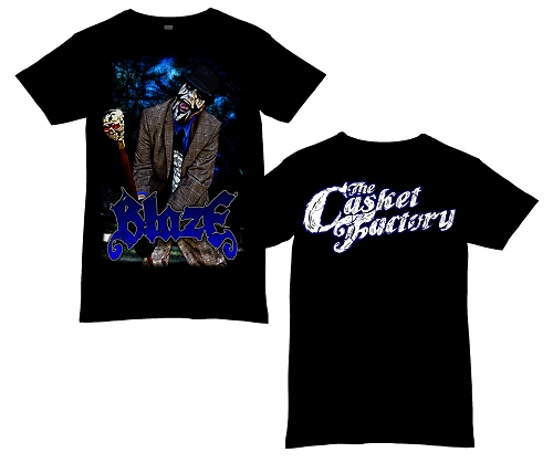 Blaze Midnight Grave Digger Shirt