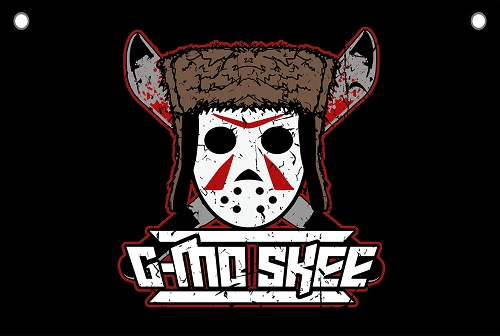 G-Mo Mask Logo 24x36 Flag