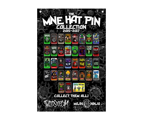 MNE Hat Pin Collection 2015-2017 Flag