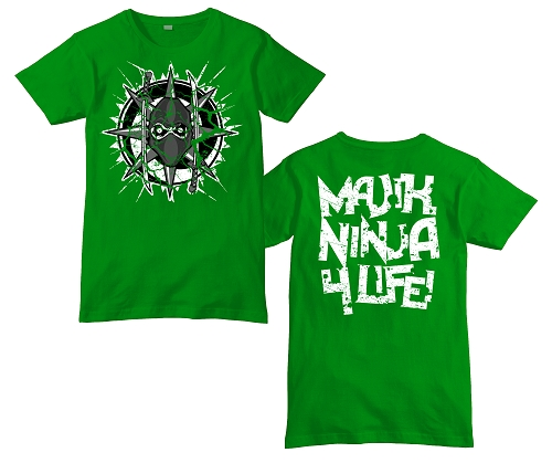 Green 4/20 Edition MNE Cracked Logo Shirt