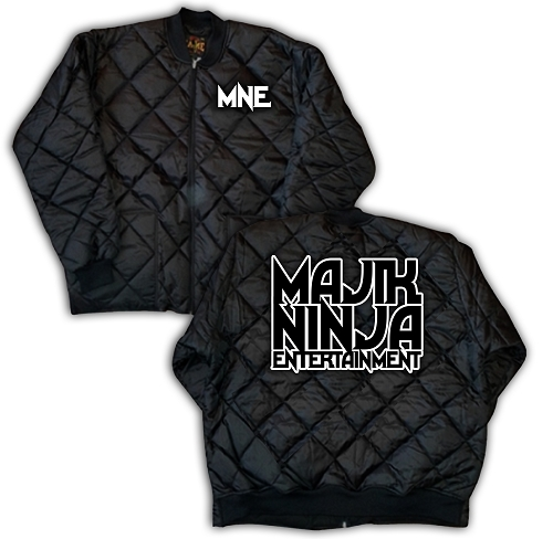 Majik Ninja Entertainment MNE Diamond Quilt Jacket
