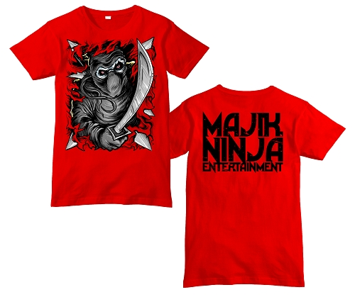 MNE Ninja Rip Through Shirt