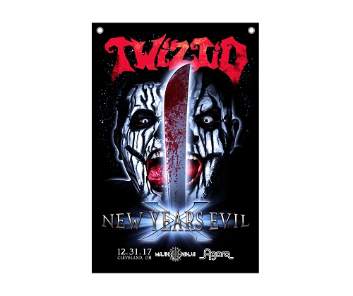 Twiztid New Years Evil 24x36 Flag
