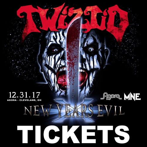 Twiztid New Years Evil 10 Tickets Cleveland, OH 12/31/17
