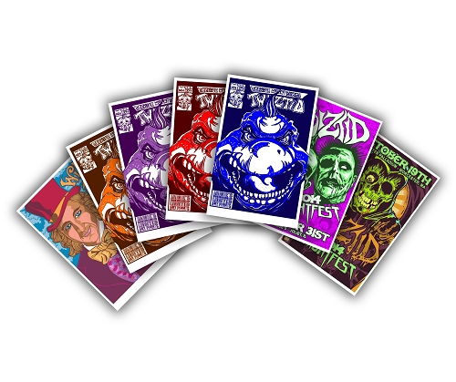 Twiztid 7 Art Print Blowout Bundle