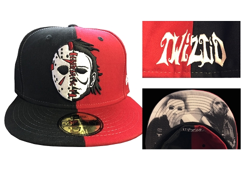 Twiztid Serial Killaz Split Face New Era Fitted Hat PREORDER