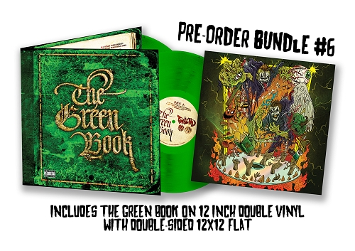 Twiztid The Green Book Vinyl Pre Order Bunlde 6