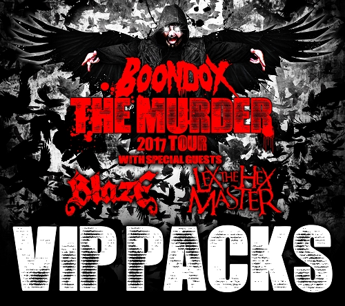 The Murder Tour 2017 VIP Package