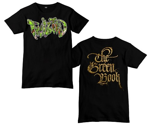 Twiztid Green Book Darkness Limited 8 Shirt