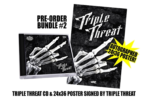 Triple Threat Pre Order Poster Bundle #2