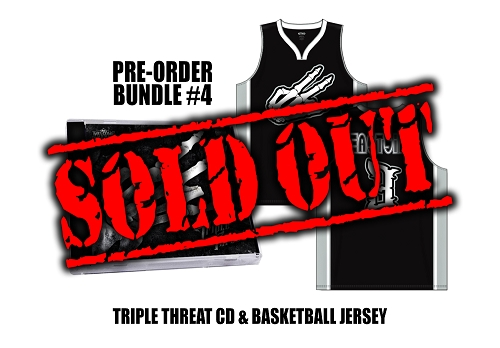 Triple Threat Pre Order Basketball Jersey Bundle #4