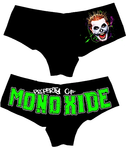 Property Of Monoxide Booty Shorts