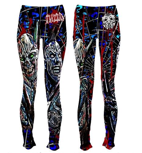 Twiztid Continuous Evilution Of Life's ?'s Leggings