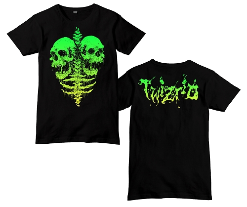 Twiztid Decaying Letters Logo Shirt