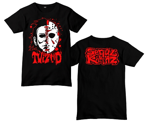 Twiztid Serial Killaz Split Face 2017 Shirt