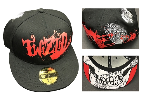 Twiztid Splatter Logo New Era Hat