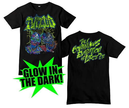 Twiztid Glow in the Dark Evilution Demons Shirt