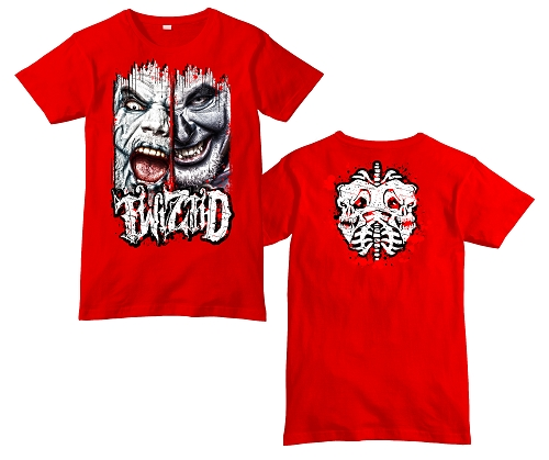 Twiztid Breakthough Red Shirt