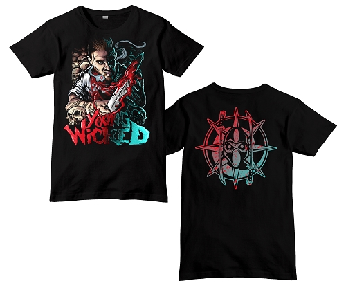 Young Wicked Bloody Knife Shirt
